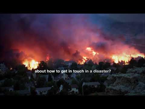 FEMA - Don't Wait! Communicate! - Open Captioning - English
