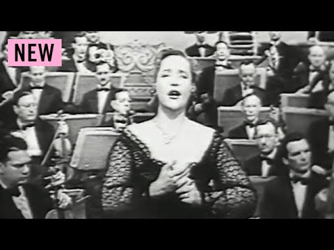 On TV: Eleanor Steber - Pace, pace mio dio - 1952