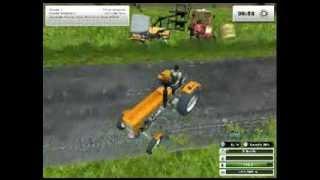 Wielka Wpadka w ls 2013 (Farming simulator 2013).Przy wożeniu bel.Awaria ursusa c330