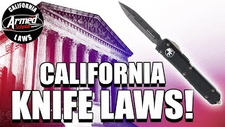 Attorney Explains California Knife Laws