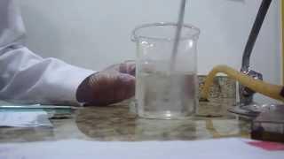 Prática: Propriedade do ácido sulfúrico na água