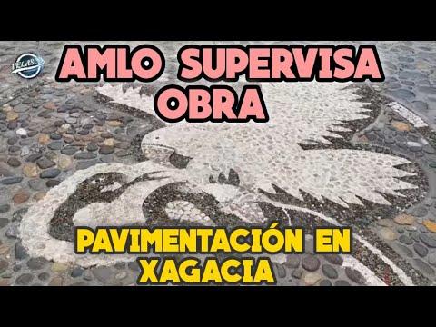 Amlo Inaugura Carretera Pavimentada De Xagacia