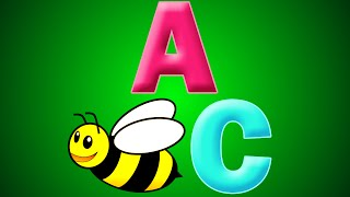 ABeeC's | a fun kids song for learning the English alphabet (abc) | BeeCeeDee