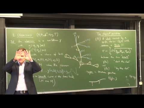 Lecture 13: Spacetime (International Winter School on Gravity and Light 2015)