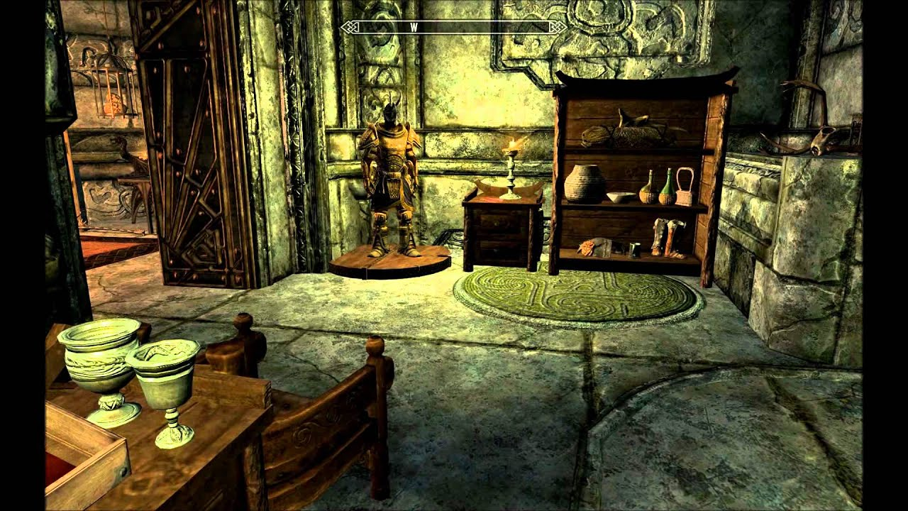 Skyrim markarth house tour youtube for Housse storio max 7