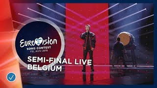 Belgium - LIVE - Eliot - Wake Up - First Semi-Final - Eurovision 2019