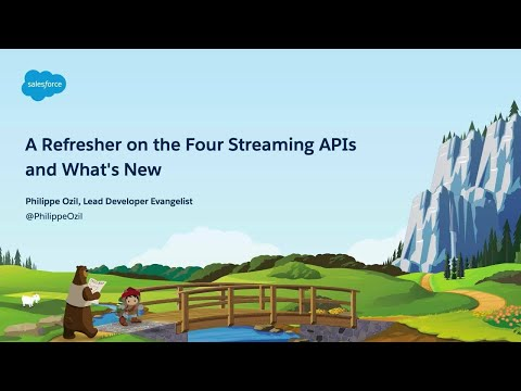 A Refresher On The Four Streaming APIs And What's New