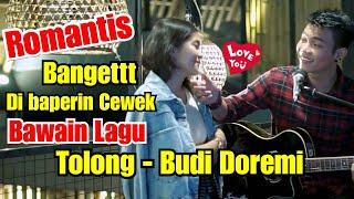 ROMANTIS BANGET !!! TOLONG - BUDI DOREMI COVER BY TRI SUAKA LIRIK