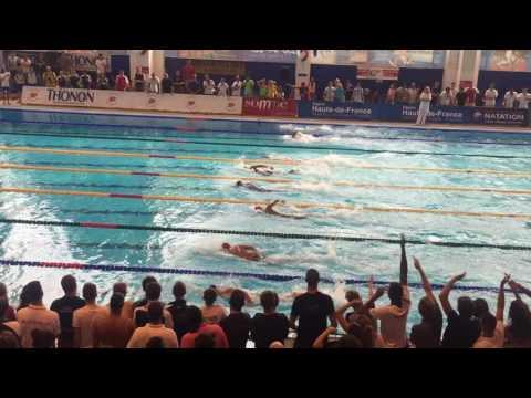 France 15 ans et moins - Amiens - Alexandre 200NL Finale A