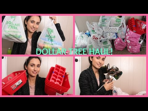 HUGE Dollar Tree & 99 Cent Only store Household Haul!