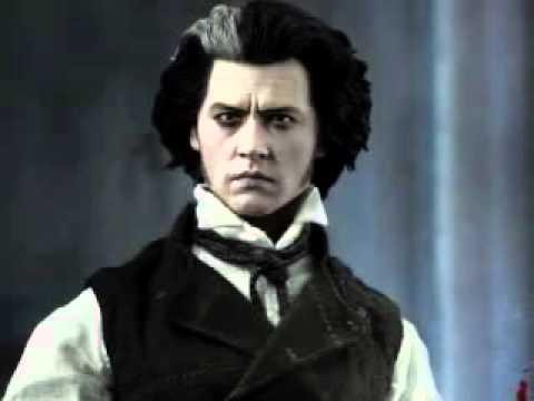 Sweeney Todd Demon Barber of Fleet Street Johnny Depp