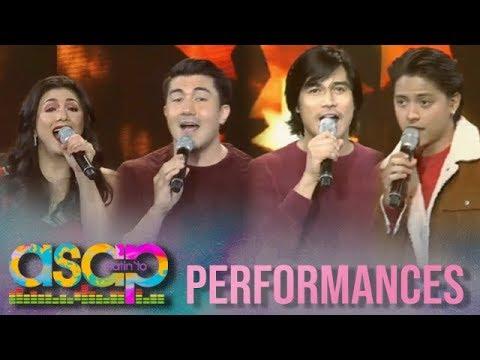 ASAP Natin 'To: Regine, Luis, Daniel, Piolo sing a Christmas carol on ASAP Natin 'To
