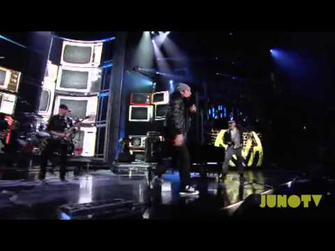 Down With Webster - Your Man, Whoa is Me, and Time to Win Medley Live at The 2011 JUNO Awards