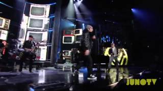 Down With Webster - Your Man, Whoa is Me, and Time to Win Medley Live at The 2011 JUNO Awards YouTube Videos