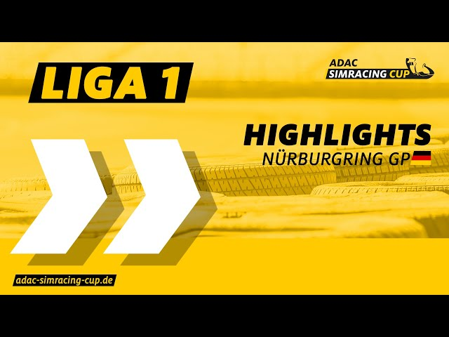 ADAC SimRacing Cup Liga 1 - Highlights Rennen 5 & 6 am Nürburgring