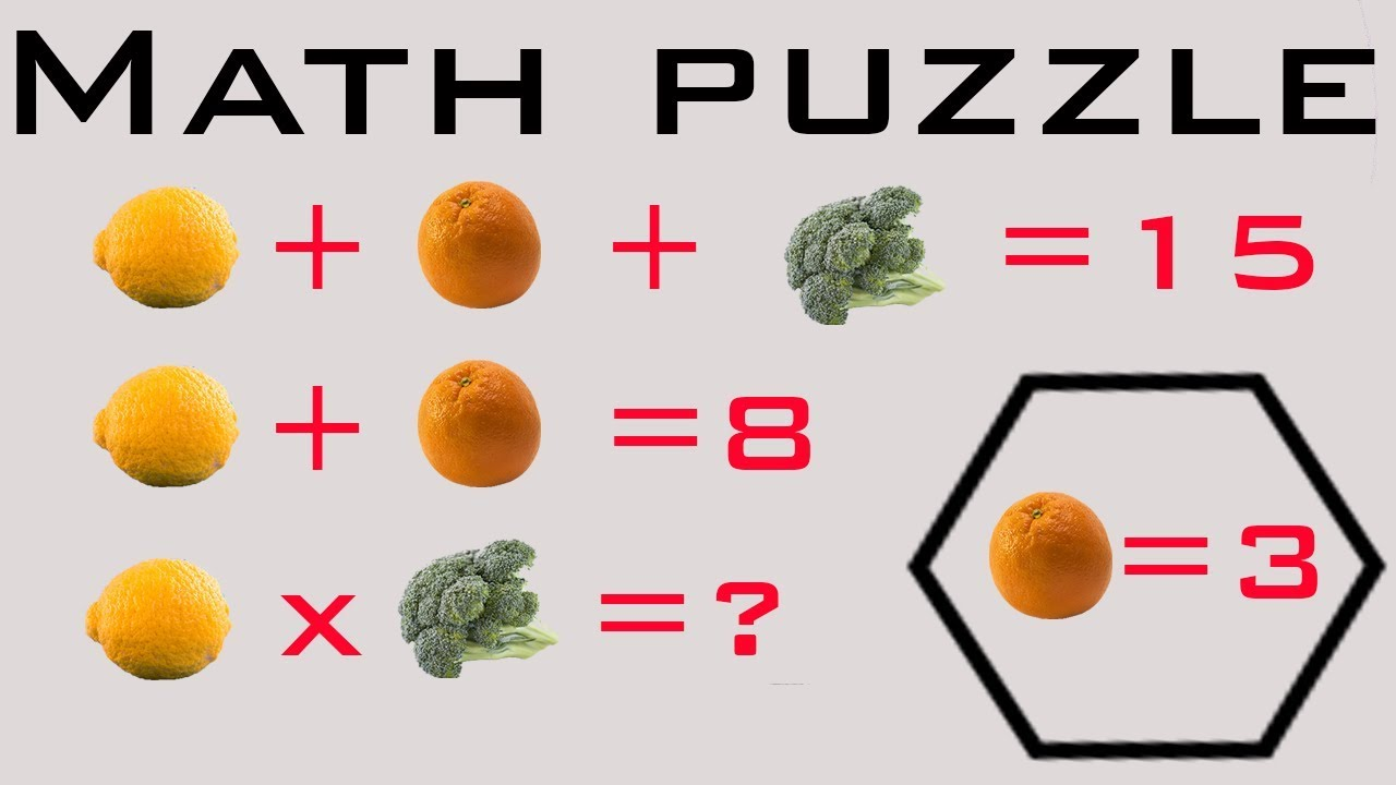 Easy math puzzle for kids #7 I Logic puzzle I Math puzzles for kids ...
