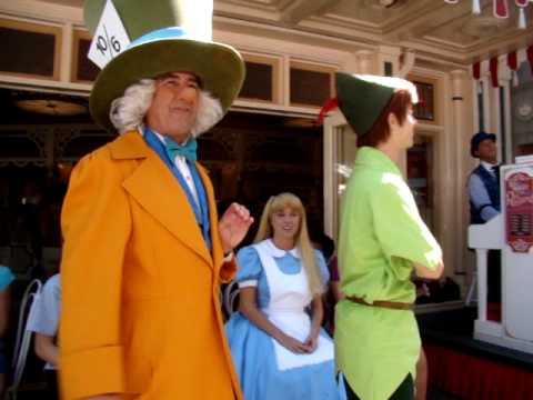Mad Hatter's Rules For Musical Chairs With Help From Peter Pan