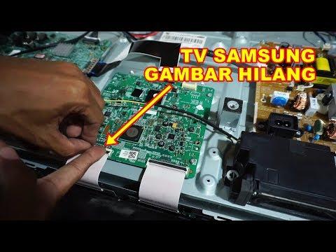 TV SAMSUNG Gambar Hilang Suara Normal VLOG96