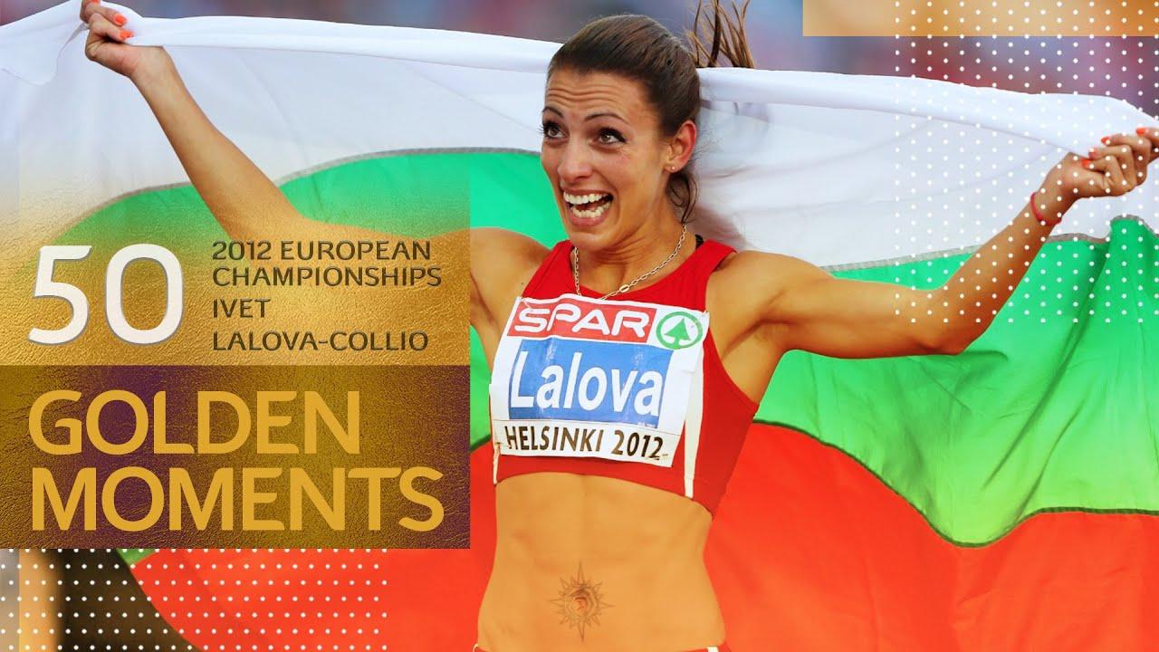 Ivet Lalova-Collio speeds to VICTORY | 50 Golden Moments