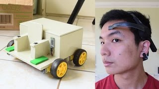 Brainwave and Blink-Controlled Miniature Wheelchair (Neurosky Mindwave Mobile and Arduino)