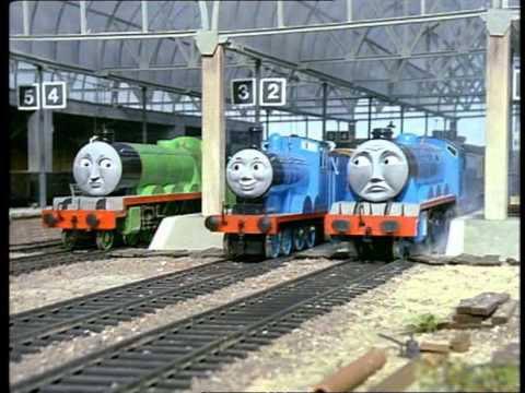 Tank Trouble 4 >> Thomas the Tank Engine and Friends S1E16 Trouble in the Shed - YouTube