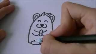 Cartoon hamster! :)