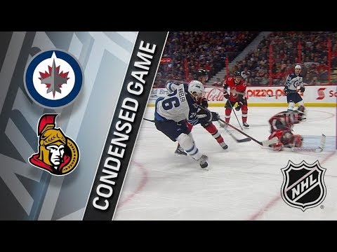 Winnipeg Jets vs Ottawa Senators – Apr. 02, 2018 | Game Highlights | NHL 2017/18. Обзор