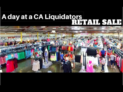 A Day at a CA Liquidators Retail Sale