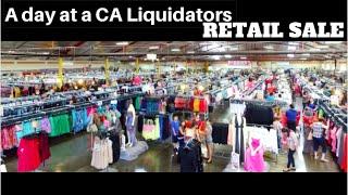 A Day at a CA Liquidators Retail Sale