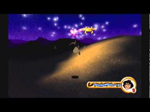 Ps1 game: Aladdin In Nasira's Revenge- Cave Of Wonders Level 1