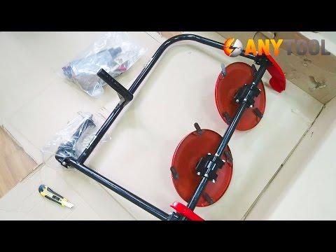 Косилка роторная Заря КР.05.000-04 к мотоблоку Салют (Агат) внешний вид и комплектация