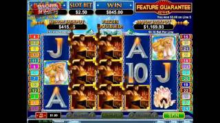 Vulcan Slot RTG - BIG WIN!(BIG win with 2.50$ bet on RTG's Vulcan slot during free spins!, 2016-02-08T16:34:45.000Z)
