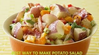 How To Make Potato Salad: Easy Mashed Potato, Potato Salad Recipe