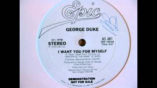 [R.I.P] George Duke - I Want You For Myself