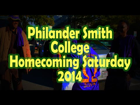 Philander Smith College Homecoming Saturday 2014