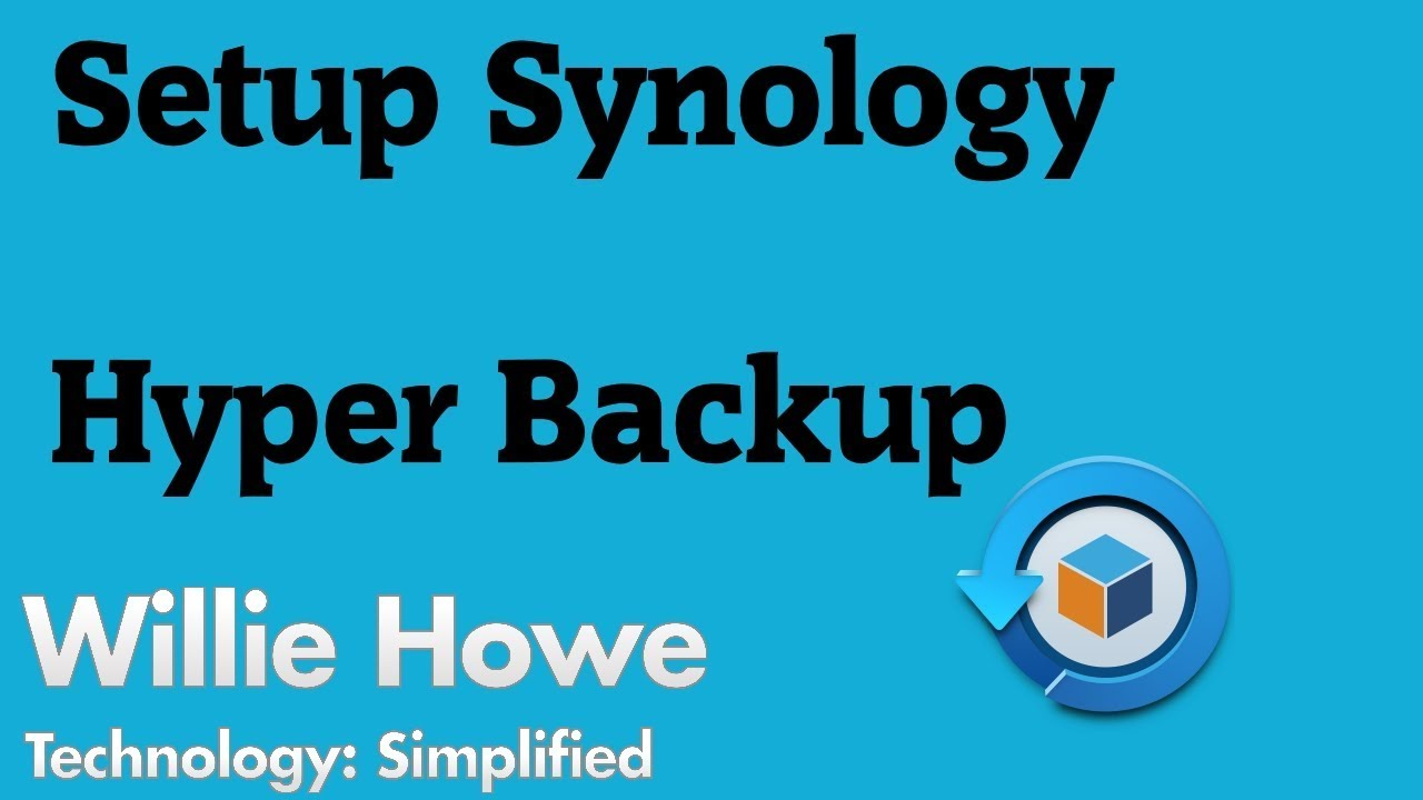 Synology Hyper Backup - Data Replication