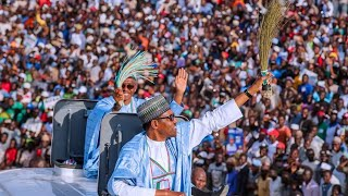 President Muhammadu Buhari attends Presidential Campaign Rally in Kaduna State on 18th Jan 2019,