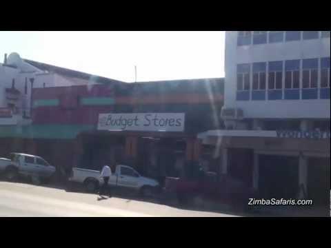 ZIMBABWE - Street view impressie Bulawayo en Livingstone