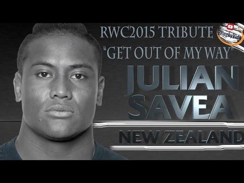 JULIAN SAVEA TRIBUTE- RWC2015 Highlights