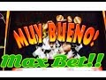 Big Win, Red Hot Tamales Slot Machine, Max Bet, Line Hit, Live Play, By IGT!!