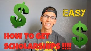 HOW TO GET SCHOLARSHIPS AND WIN TONS OF MONEY!!! EASY $$$ (Scholly)