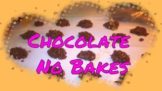 Chocolate/peanut Butter Nobake Cookies