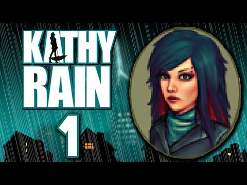 Kathy Rain [1] - A DETECTIVE IS BORN - Gameplay (Day One)