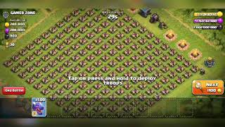 #GAMER ZONE |500 max dragon vs 1000 max xbow | clash of clans best private server 2018 Th 12