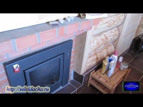 Металлическая печь для бани на дровах. Как установить печь в бане и обложить кирпичом