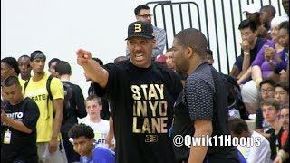 LaVar Ball & LaMelo Ball Big Ballers Lose to Compton Magic in 2 Overtimes!!