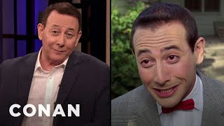 Paul Reubens Promotes His Sold-Out Tour - CONAN on TBS