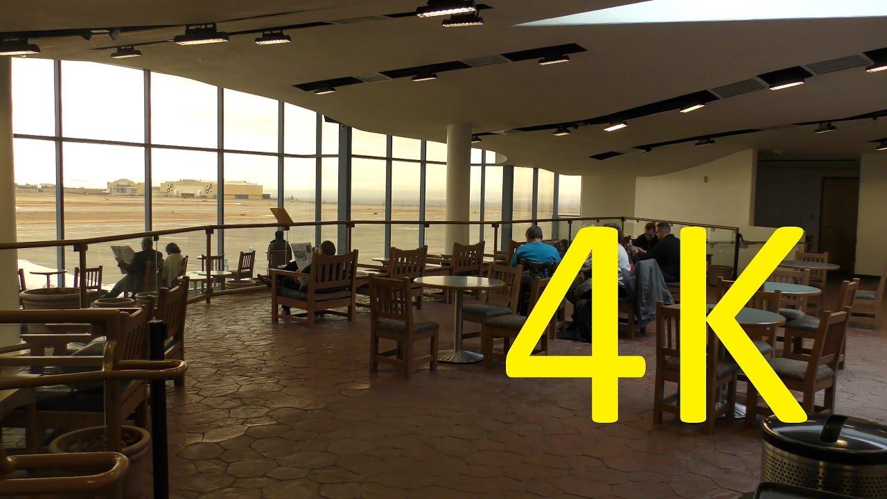 A 4K Airport Tour Of Albuquerque International Sunport