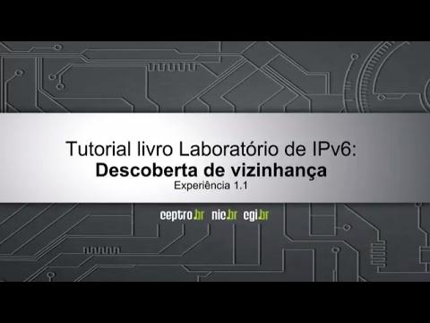 Tutorial IPv6: Descoberta de vizinhança