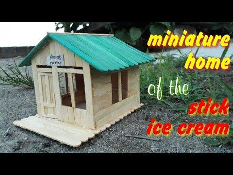 8800 Koleksi Gambar Miniatur Rumah Dari Stik Es Krim Sederhana Terbaik
